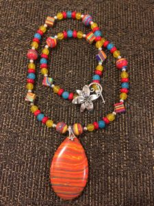 necklace created by Billy Franklin of Soul Man Jewelry