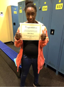Delissa holding award